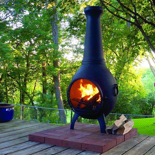 Best 20+ Large chiminea ideas on Pinterest | Metal water tank ...