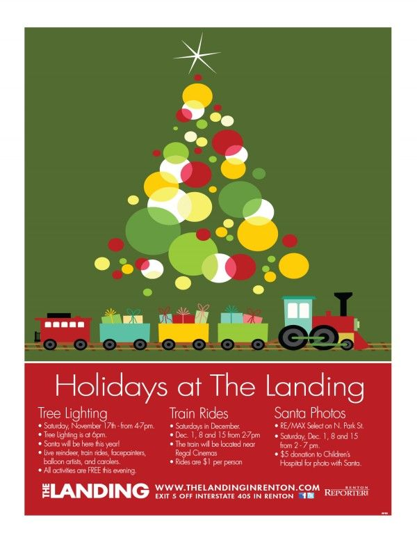 The Landing in Renton | Christmas events