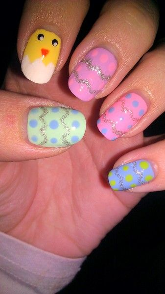 95 Best Easter Nail Designs Images On Pinterest Easter