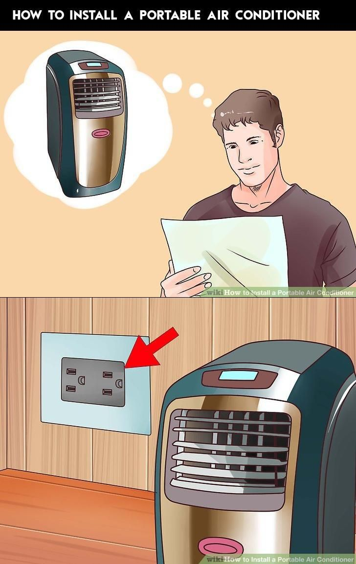 How To Install A Portable Air Conditioner With Images Portable Air Conditioner Portable Air Conditioning Portable Air Conditioners