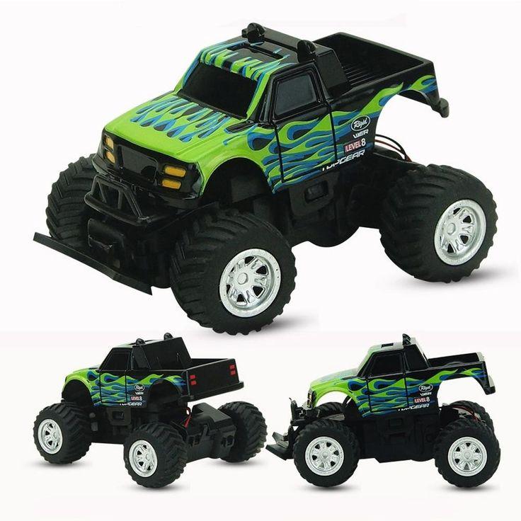 LeadingStar RC Car 4 Channel Radio 2.4GHz Rock Crawlers Rally climbing Car Bigfoot Car Remote Control Model Off-Road Vehicle Toy