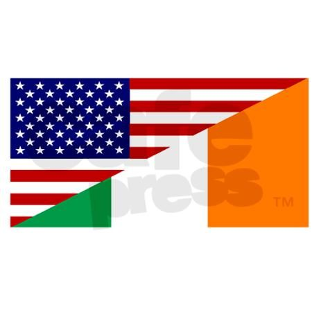 irish car flags
