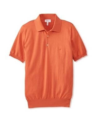 50% OFF Brioni Men's Polo (Orange)