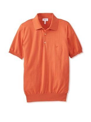 50% OFF Brioni Men's Polo (Orange)