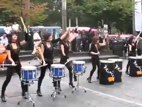 Самые крутые девушки барабанщики