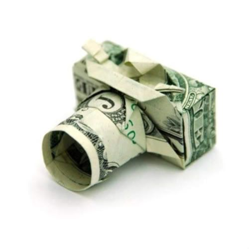 so cute!: Make Money, Dollar Bill Origami, Gifts Ideas, Paper, Dollar Camera, Money Origami, Moneyorigami, Folding Money, Dollar Origami