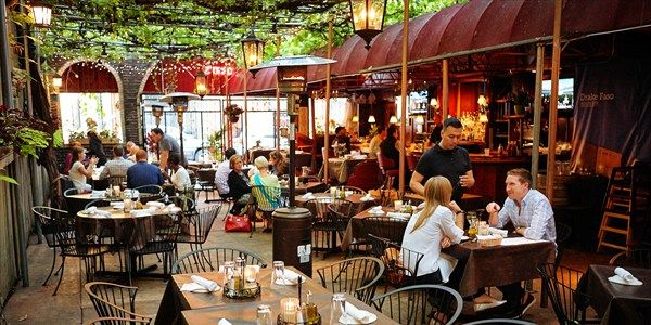 Orsou0027s Old Town Chicago Italian Restaurant Awesome! Has Out Door Patio  Serving Classic Italian Favorites