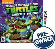 Teenage Mutant Ninja Turtles: Danger of the Ooze - PRE-Owned - Nintendo 3DS, Multi