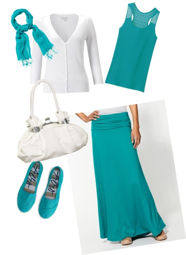 """teal breeze"" by brandyswife ❤ liked on Polyvore"