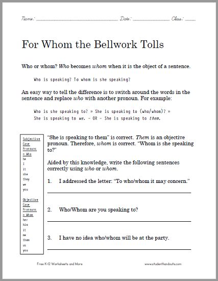 Multiplying With Exponents Worksheet Pdf  Best Ela English Language Arts Images On Pinterest  English  Compound Sentences Worksheets Pdf with Estimated Tax Worksheet Calculator Word For Whom The Bellwork Tolls Grammar Worksheet  Free To Print Pdf This What Darwin Never Knew Pbs Nova Special Worksheet Answers