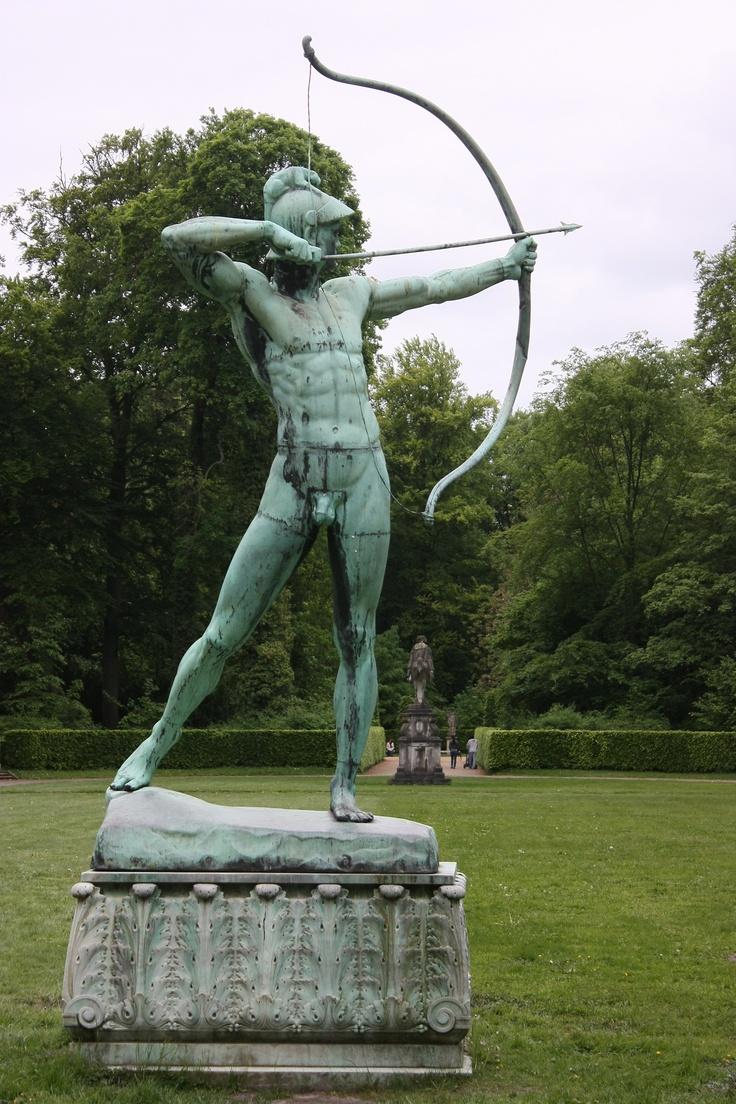 Park Sculpture Schloss Sanssouci Potsdam, Germany
