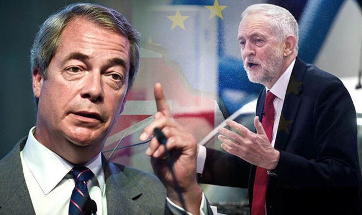 Nigel Farage has vowed to return to politics if Brexit does not happen