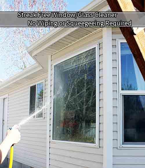 Streak Free Window/Glass Cleaner http://www.livinggreenandfrugally.com/streak-free-windowglass-cleaner/