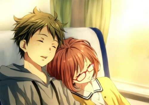 Beyond the boundary mirai and akihito - Image manga couple ...