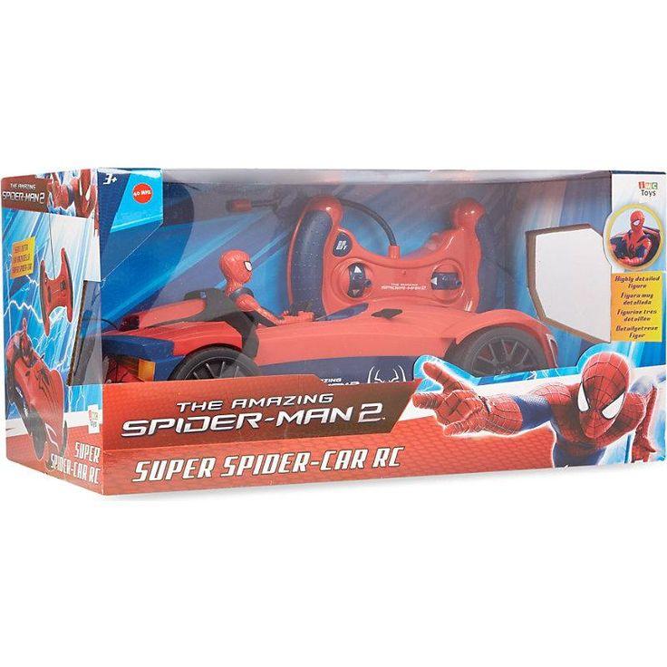 Spiderman RC Super Spidercar was £39.99 NOW £14.99 at Argos