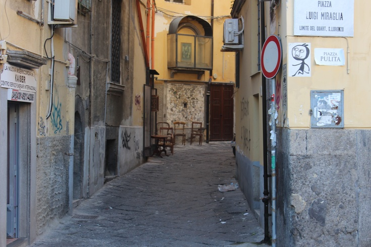 Naples - back streets in the old city