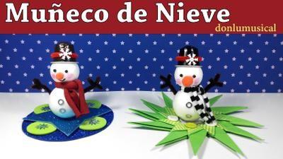 Muñeco de nieve, muy fácil