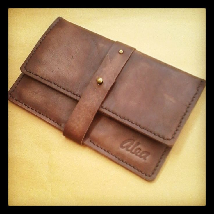 Omni Leather wallet $45.00