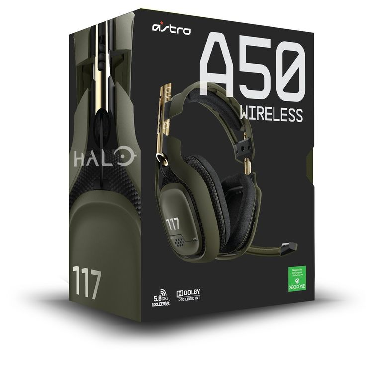 Astro Gaming A50 Wireless Headset - Green (Xbox One): Amazon.co.uk: PC & Video Games