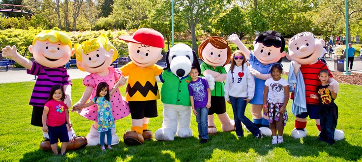 California's Great America - Planet Snoopy