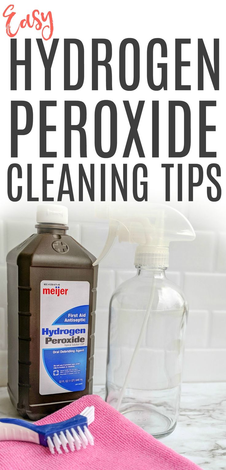 b44e36b282cf84965919801e3d953e47 Easy Hydrogen Peroxide Cleaning Tips