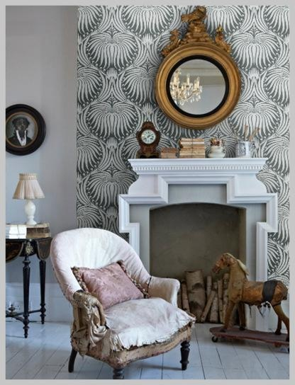 farrow and ball lotus wallpaper