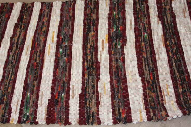 A rag rug I made last year