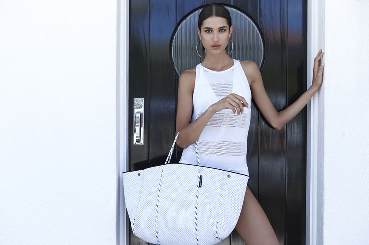 Beautiful White Escape carryall