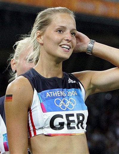 Sina Schielke German Sprinter Health And Sports