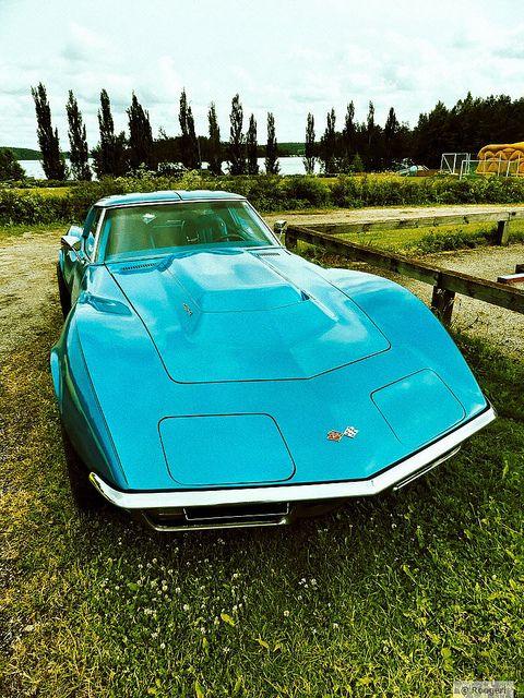 454 cid big block Corvette 1970 by Roogeri, via Flickr