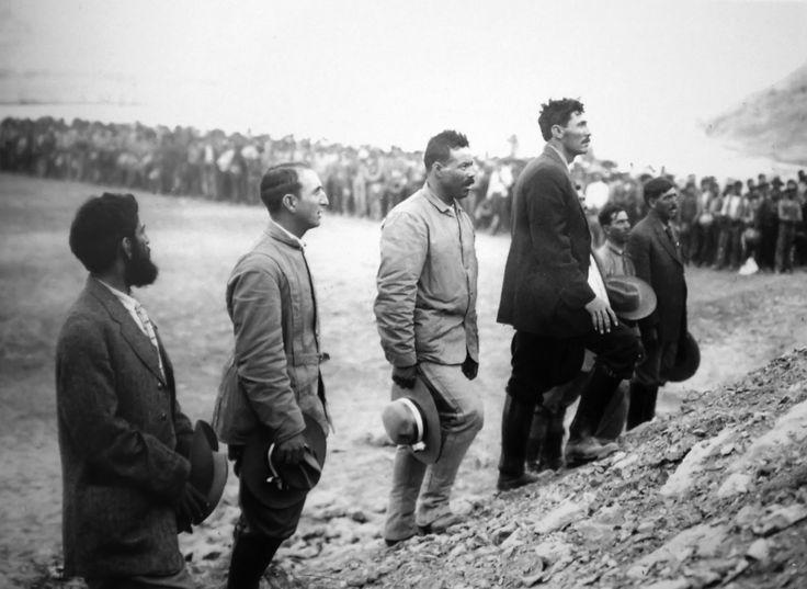Roque Glz Garza,Raul Madero,Francisco Villa,Pascual Orozco,Jose de la Luz Blanco y Juan Dozal
