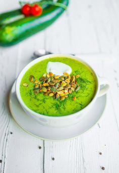 Zupa krem z cukinii - najlepsza - łatwa, szybka i niedroga