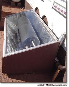 Solar Hot Water Batch Collector — ByExample.com DIY looks fairly simple