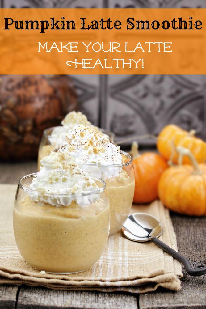 Healthy Pumpkin Smoothie, A Better Pumpkin Latte | All Nutribullet Recipes