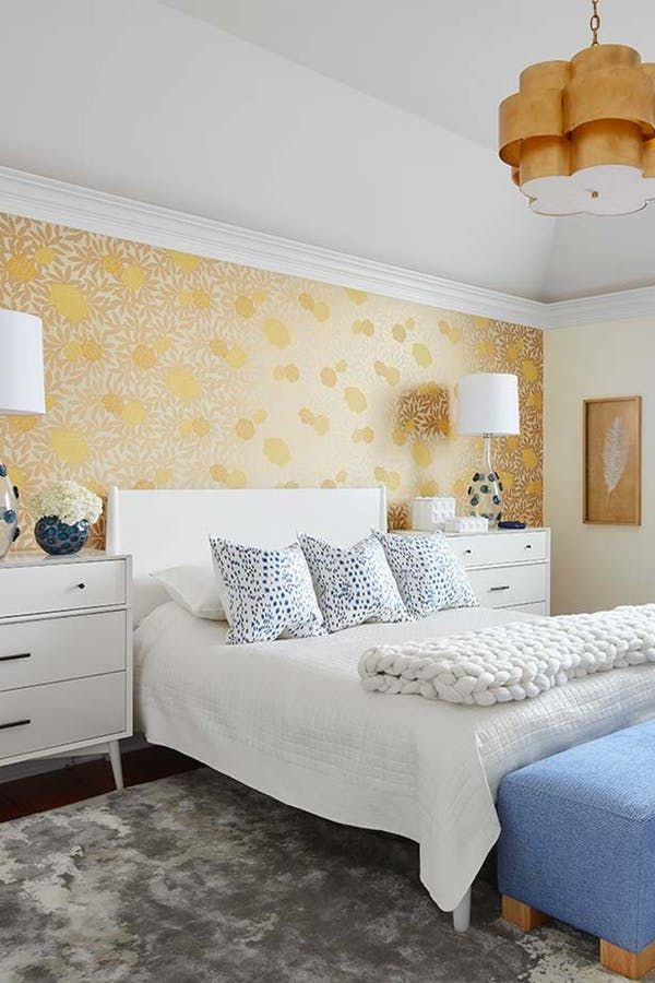 This Wallpaper Trend Is Taking Over Our Pinterest Feed Home Decor Home Decor Trends Wallpaper Trends