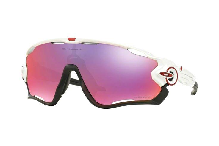 Oakley Jawbreaker OO9290 05 Sonnenbrille in polished white | Manche Sonnenbrillen schützen Ihre Augen, andere schützen Ihr Image. Oakley-Sonnenbrillen schützen Beides. Ein Stil für jeden Geschmack, mit der Technologie für jeden Bedarf. Sonnenbrillen für jede Situation.Gönnen Sie sich eine...