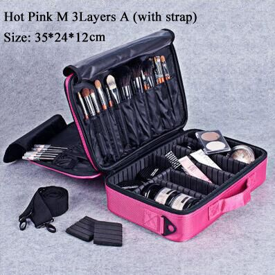 New 2016 Hot High Quality Professional Makeup Organizer Bolso Mujer Cosmetic Case Travel Large Capacity Storage Bag Suitcases-in Cosmetic Bags & Cases from Luggage & Bags on Aliexpress.com   Alibaba Group