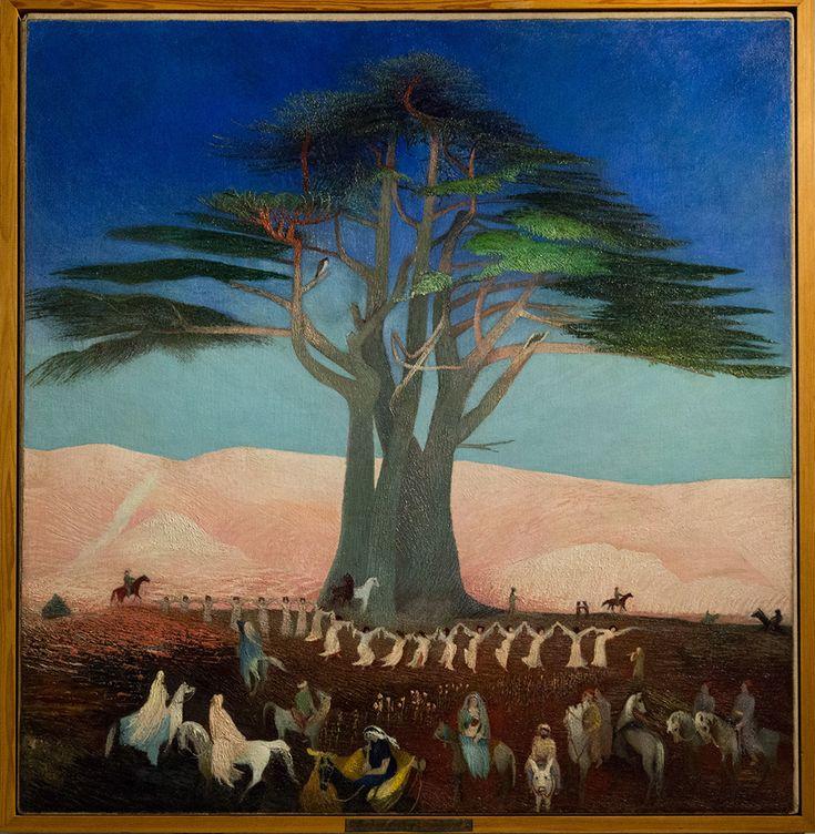 Pilgerreise zu den Zedern des Libanon (1907)