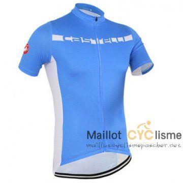maillot Cyclisme pas cher Light Edition cyclisme manche courte bleu