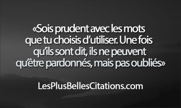 Citation : Les Mots | Les Plus Belles Citations: Collection des citations d'amour, citations de la vie et Belles Phrases