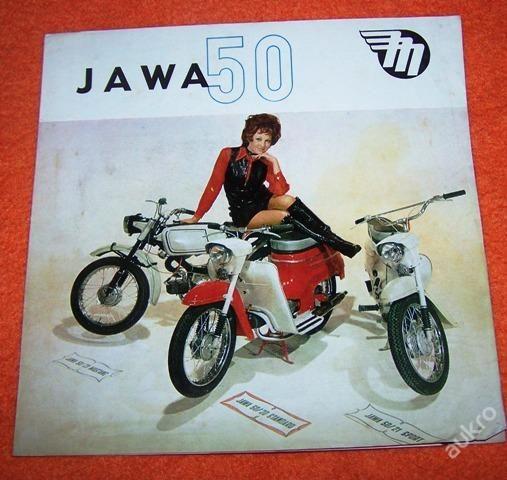 JAWA 50 - PROSPEKT