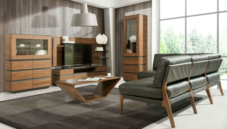 Modern livingroom, elegant and functional. Zebra Home Concept, designed by Klose. #livingroom #KloseFurniture #woodenfurniture