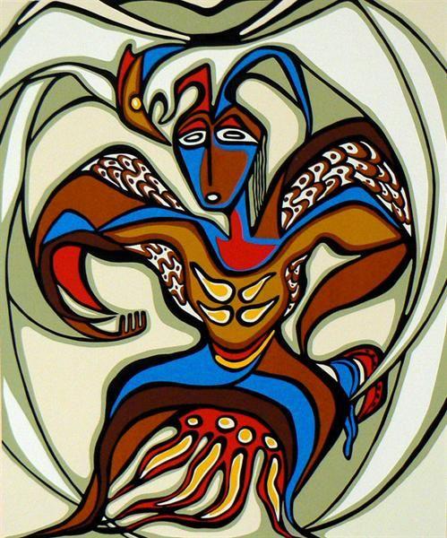 Daphne Odjig ~ Eagle Dancer
