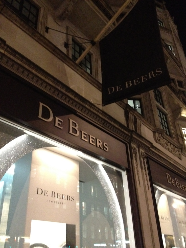 De Beers in London.