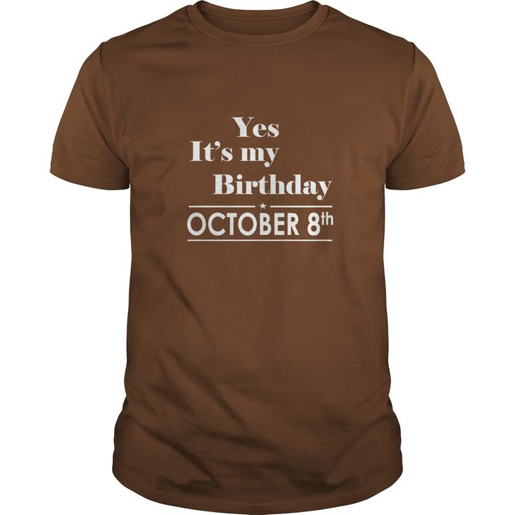 Birthday october 8 tshirt  shirt for womens and men birthday october 8 - birthday, queens