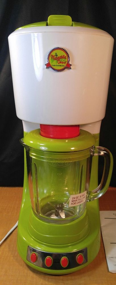 NEW NOSTALGIA ELECTRIC MOS-404 MARGARITA OASIS FROZEN DRINK MACHINE DRINK MAKER #NOSTALGICELECTRICS