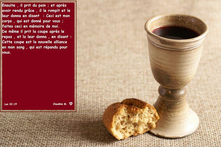 BONJOUR  :-)  Jésus est le pain de vie, IL  entretien notre vie spirituelle.  Bon dimanche à tous, culte béni pour ceux qui s'y rendent.                                          ♥ Claudine Michau - Google+