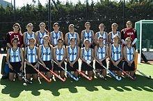 Selección femenina de hockey sobre césped de Argentina.