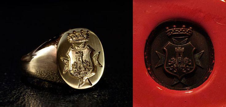 Catalogo anelli chevaliere - Stefania Nicastro Incisioni