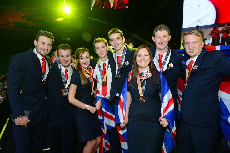 Team UK medal winners